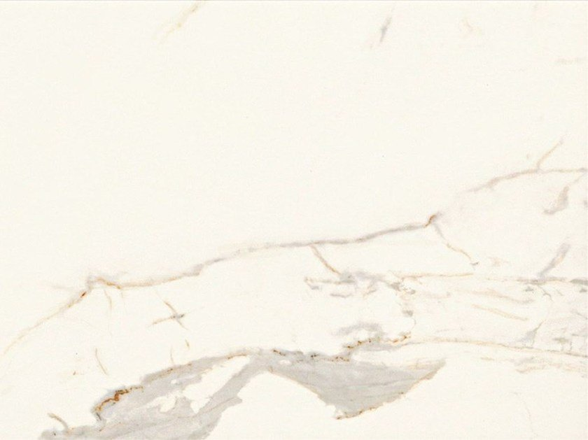 Glazed stoneware flooring with marble effect MARMO D Calacatta by Italgraniti