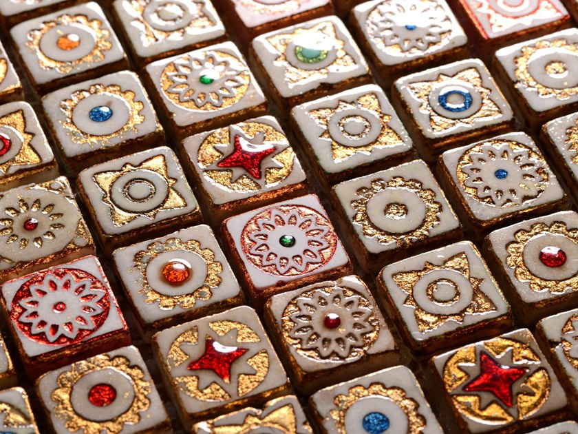 Lava stone mosaic MARMOFUSIONI   Lava stone mosaic by Acquario Due