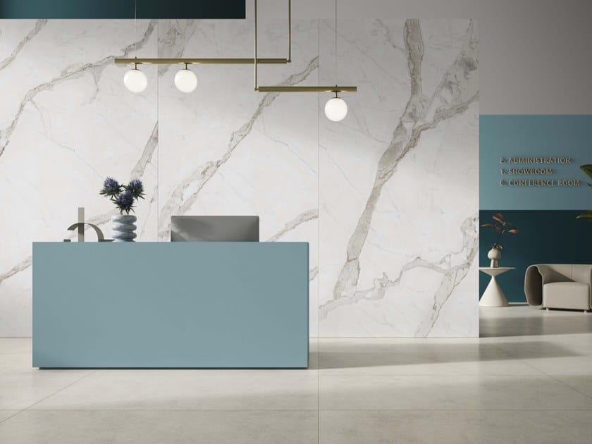 Pavimento/rivestimento in gres porcellanato effetto marmo MARMOKER by Casalgrande Padana