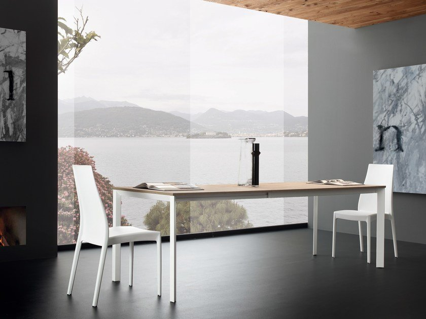 Extending rectangular dining table MARQUES by IDEAS Group