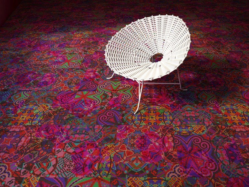 Patterned carpet tiles MARRAKESH by OBJECT CARPET GmbH