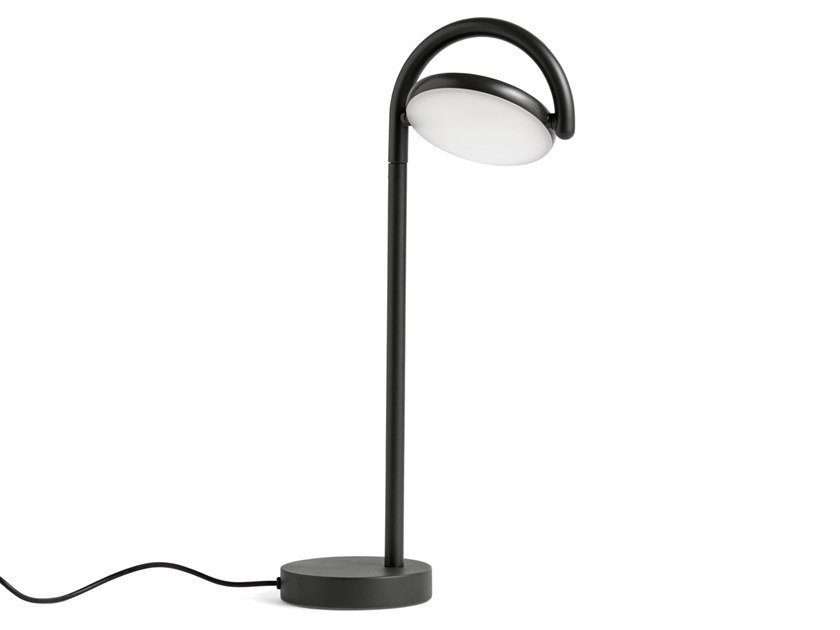 Lampada da tavolo a LED orientabile in alluminio MARSELIS | Lampada da tavolo by Hay