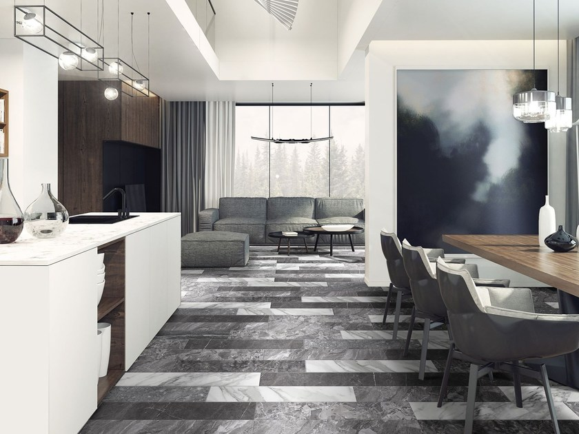 Wall/floor tiles with marble effect MARSHALL by Absolut Keramika