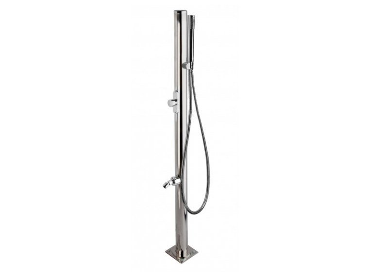 Stainless steel outdoor shower / Swimming pool shower MARTE By ...
