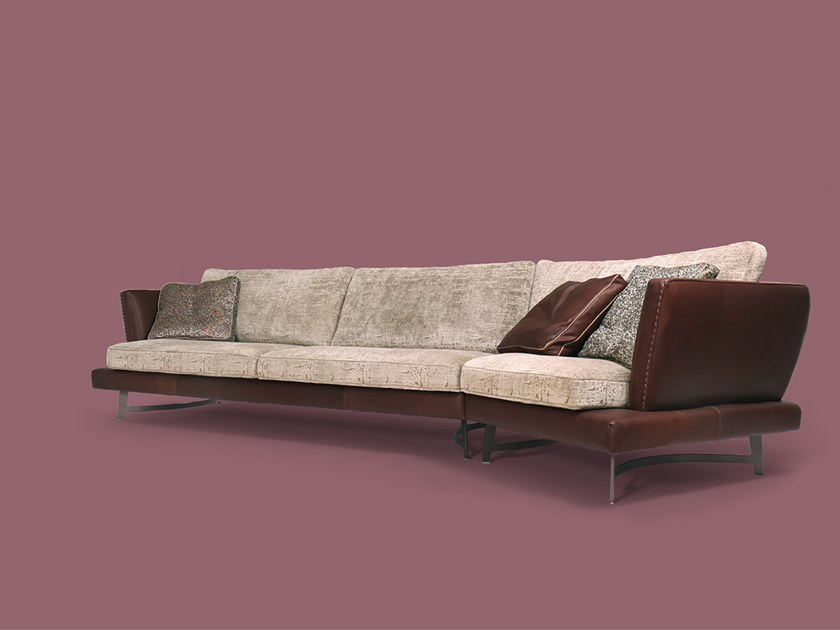 Sectional fabric sofa MARTIN   Sectional sofa by Borzalino
