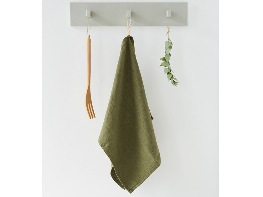 Linen dishcloth MARTINI OLIVE | Dishcloth by Linen Tales