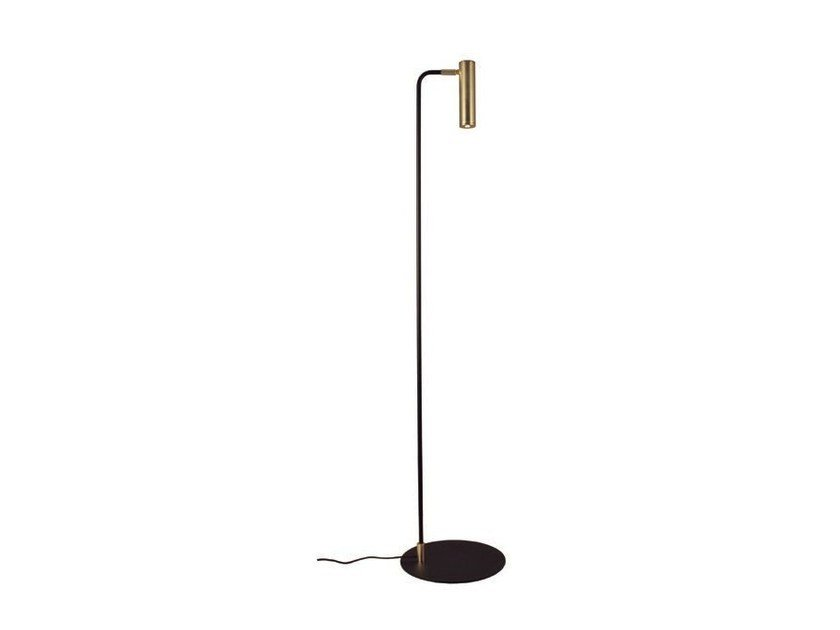 LED adjustable metal floor lamp MARU | LED floor lamp by Aromas del Campo