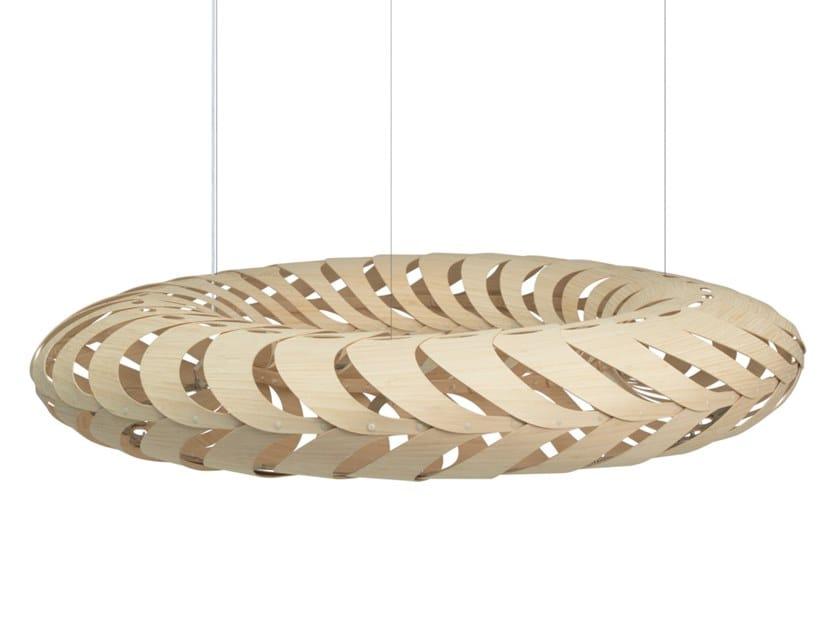 LED pendant lamp MARU by David Trubridge