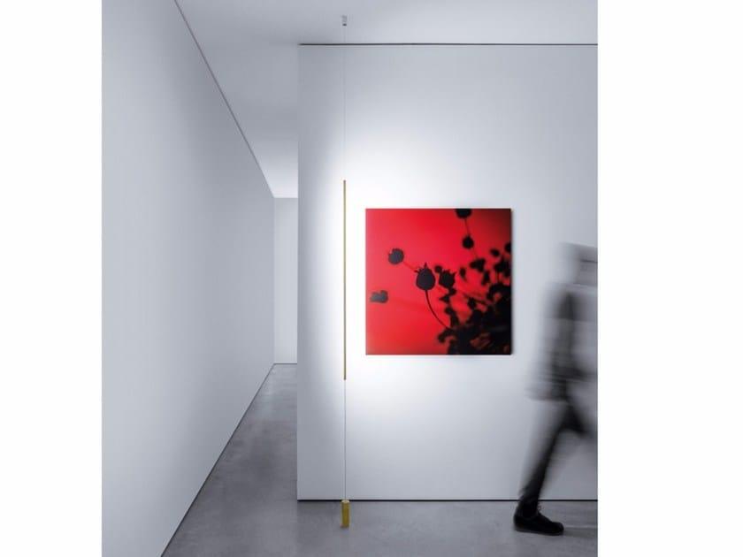 LED metal floor lamp MASAI by DAVIDE GROPPI