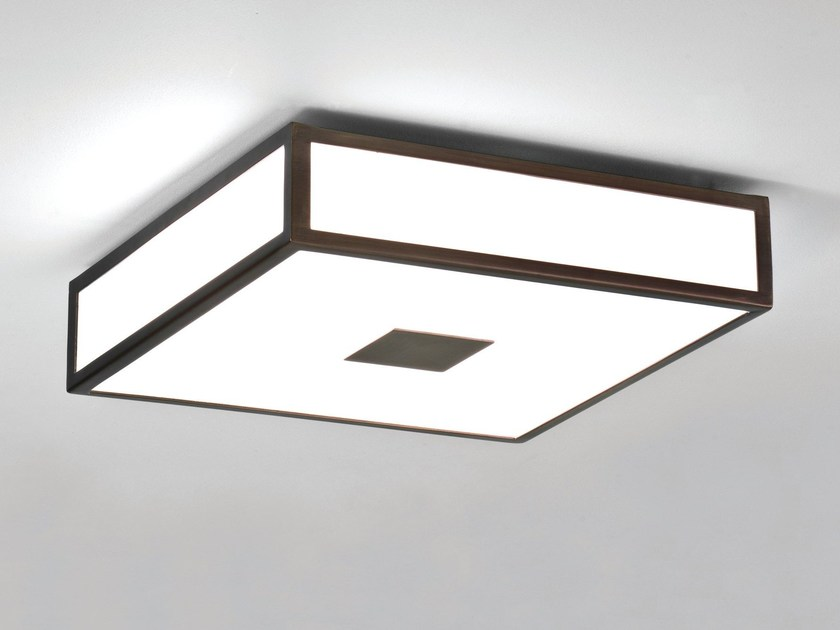 Bronze ceiling lamp for bathroom mashiko bronze ceiling lamp by astro lighting
