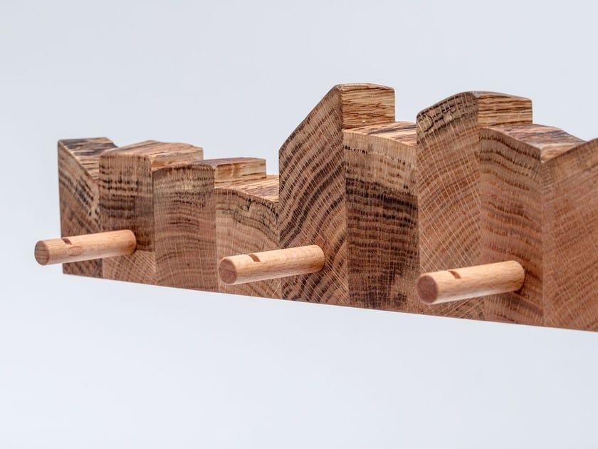 Awe Inspiring Wall Mounted English Oak Coat Rack Masiv Hanger By St Download Free Architecture Designs Rallybritishbridgeorg