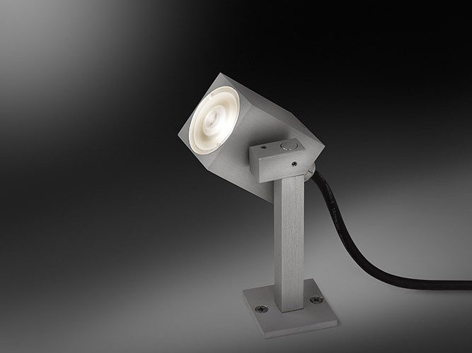 Proiettore per esterno a LED in alluminio anodizzato MASK by BEL-LIGHTING