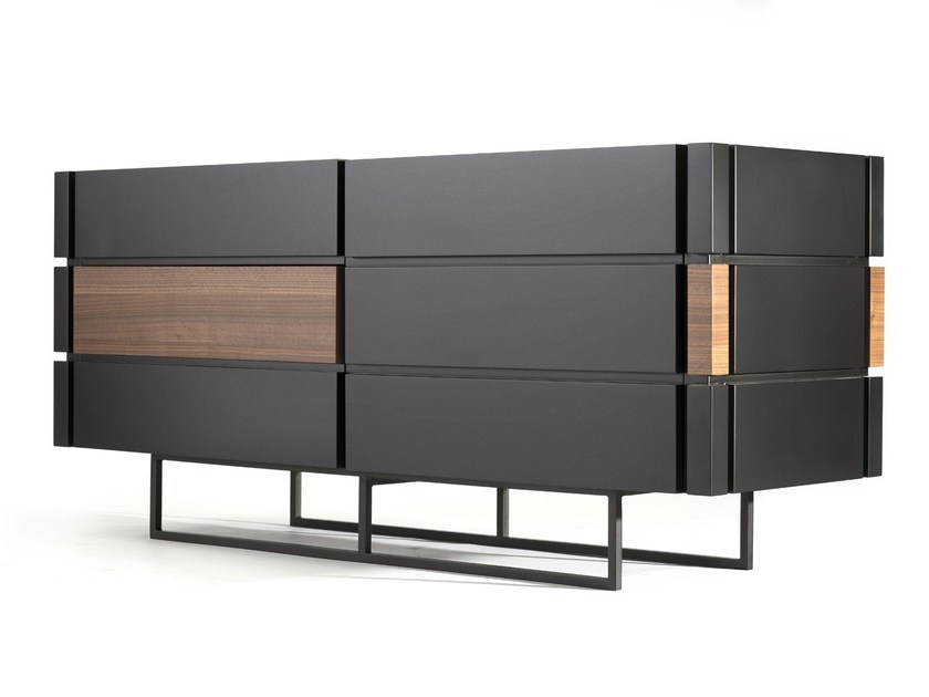 MDF sideboard with drawers MASK by Max Kasymov
