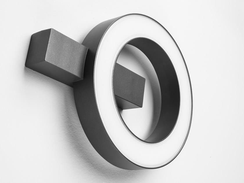 Lampada da parete a LED in alluminio pressofuso MASK+ ROUND by PERFORMANCE iN LIGHTING