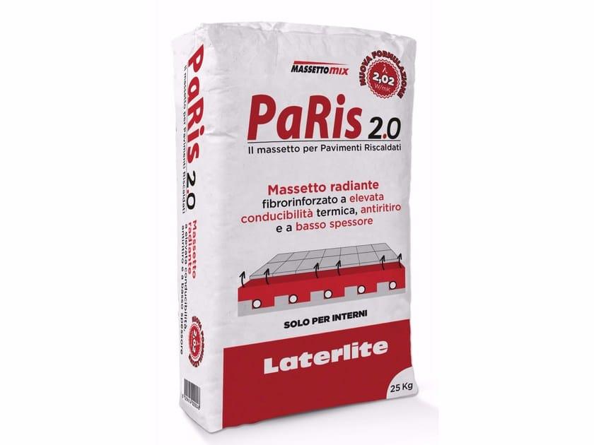 Massetto ad elevata conducibilità termica PARIS 2.0 by Laterlite