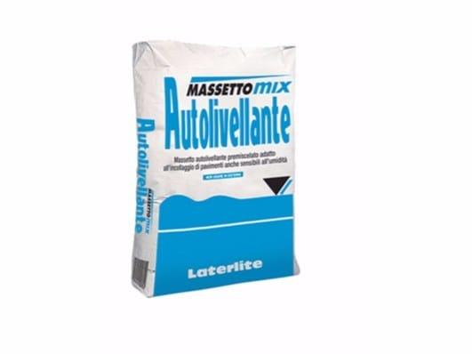 Massetto autolivellante MASSETTOMIX AUTOLIVELLANTE by Laterlite