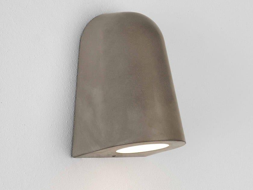 Lampada da parete per esterno in cemento con dimmer MAST LIGHT   Applique per esterno in cemento by Astro Lighting