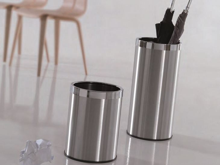 Stainless steel umbrella stand MASTER by Caimi Brevetti