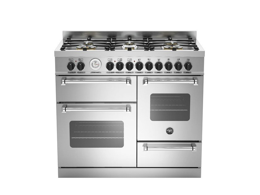Cucina a libera installazione professionale MASTER - MAS100 6 MFE by Bertazzoni