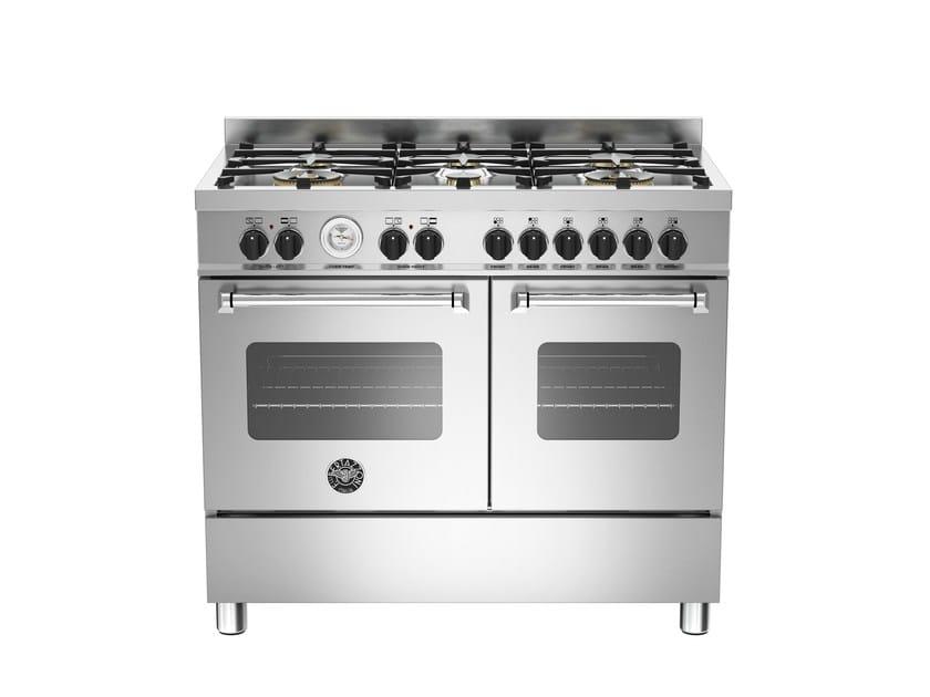 Cucina a libera installazione professionale MASTER - MAS100 6 MFE D by Bertazzoni