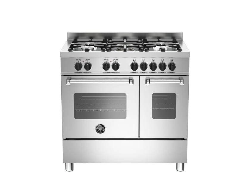 Cucina a libera installazione professionale MASTER - MAS90 5 MFE D XE by Bertazzoni