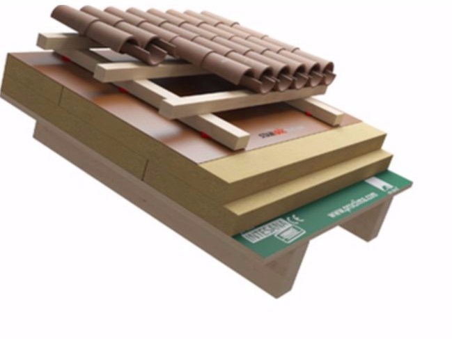 Ventilated roof system MASTER by Naturalia BAU