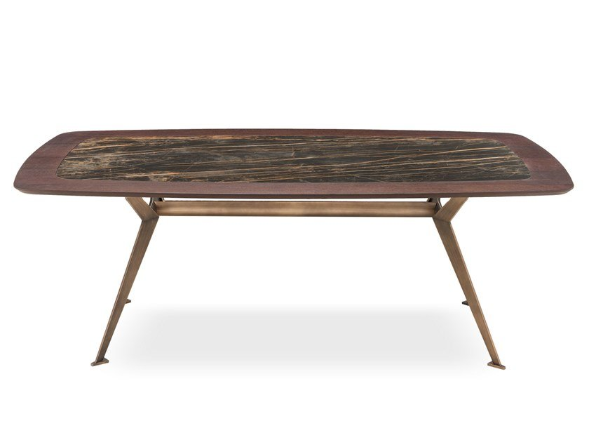 Rectangular dining table MASTER | Rectangular table by RIFLESSI