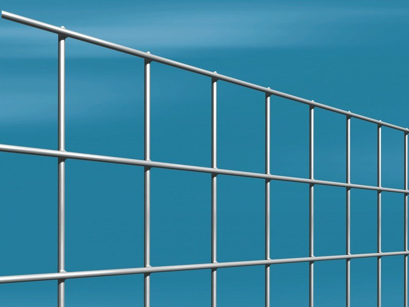 Security electrically welded mesh Fence MASTERPLAX FORT by Gruppo CAVATORTA