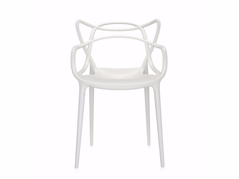 Stackable polypropylene chair MASTERS by Kartell