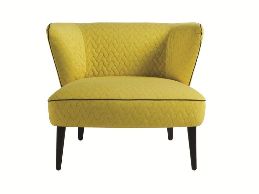Fabric armchair with armrests MATADOR by ROCHE BOBOIS