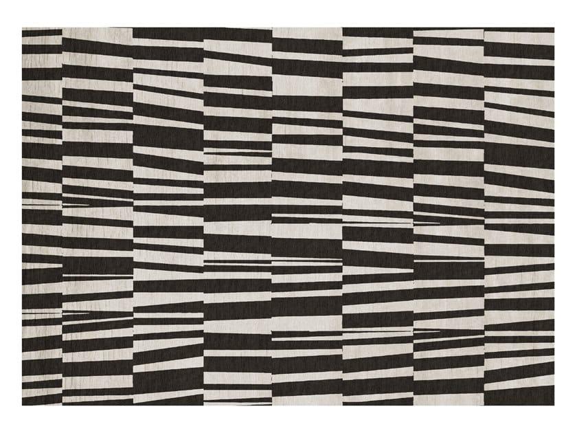 Rectangular silk rug MATCH by GIORGETTI