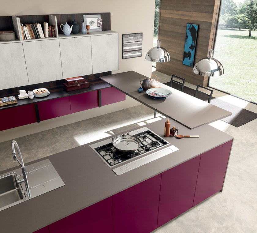 MATERIA | Cocina con península By Febal Casa diseño Alfredo Zengiaro