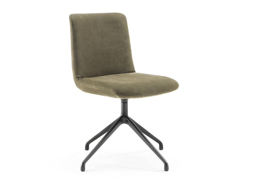 Swivel upholstered chair MATERIA SOFT by Riva 1920