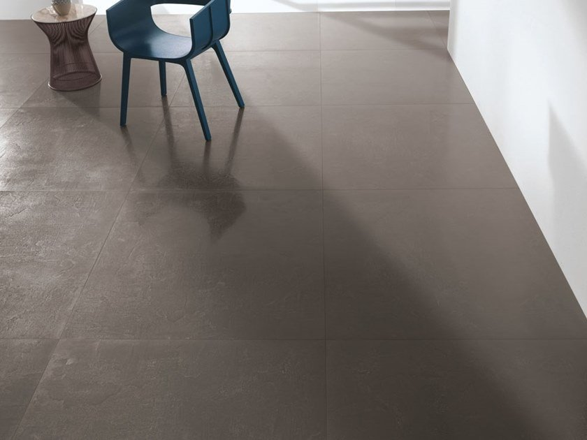 Laminated stoneware wall/floor tiles with concrete effect MATERICA - CEMENTO by COTTO D'ESTE
