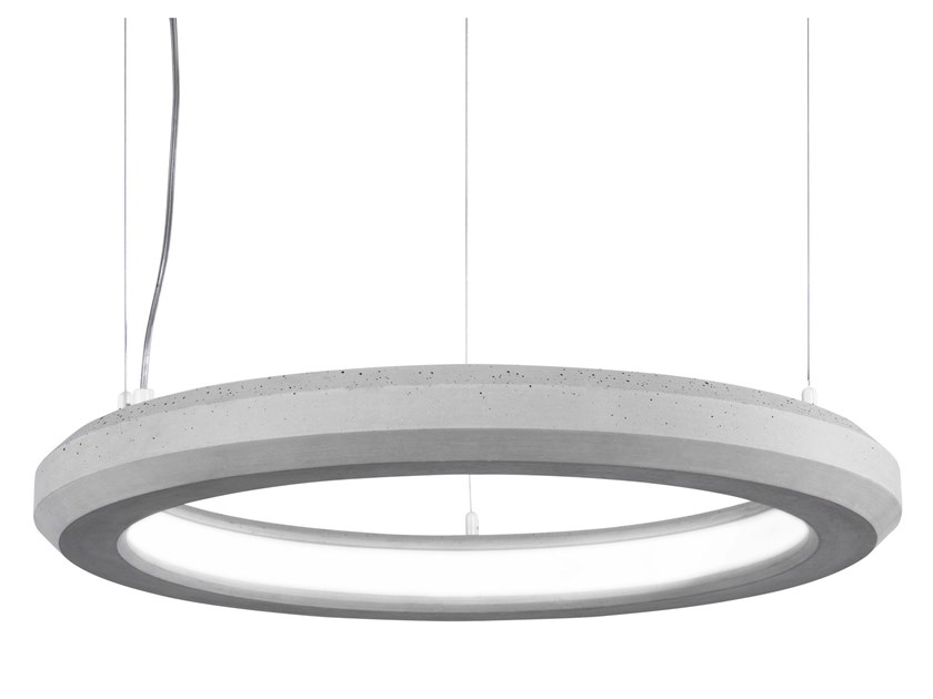 LED cement pendant lamp MATERICA | LED pendant lamp by Marchetti