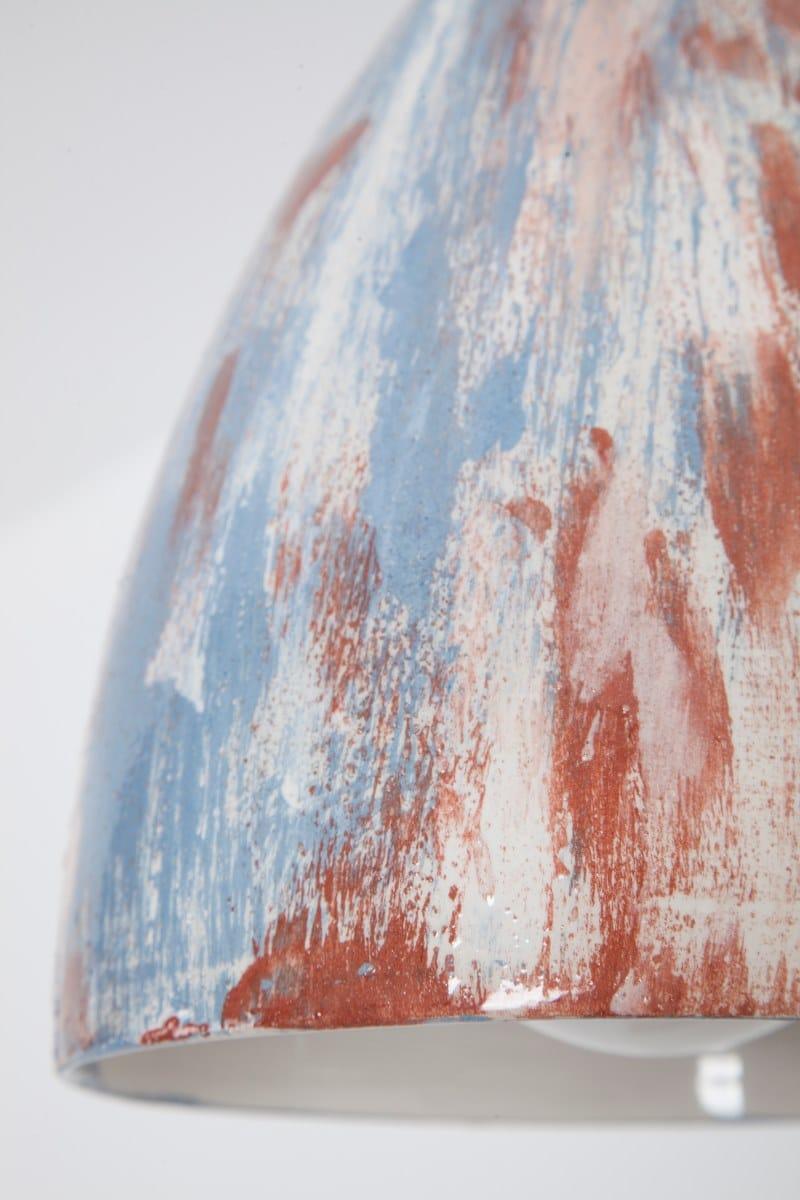 In Led Sospensione A MatericaLampada Engi Ceramica nkP0wOX8
