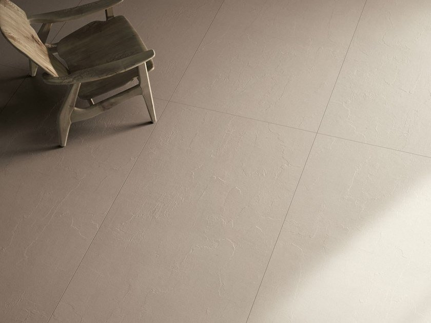 Laminated stoneware wall/floor tiles with concrete effect MATERICA - TORTORA by COTTO D'ESTE