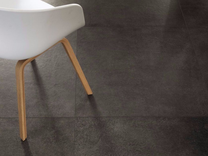 Porcelain stoneware wall/floor tiles with stone effect MATERIE HIGH TECH - LAVA by ARIOSTEA