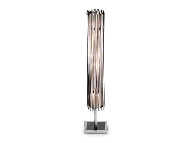 Brass floor lamp MATHENY | Floor lamp by Delightfull