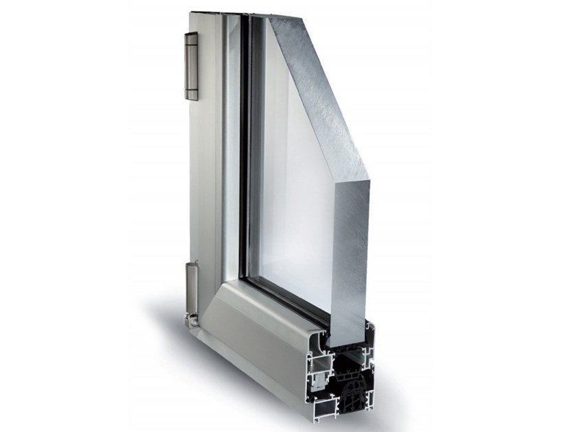 Aluminium casement window MATIC 72 TT by ALsistem