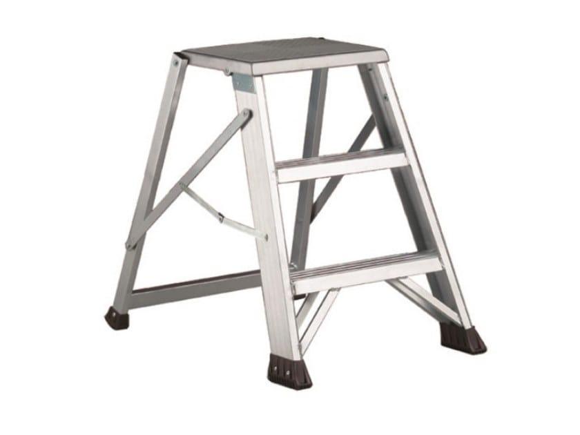 Aluminium heavy duty ladder MATRIX by SVELT