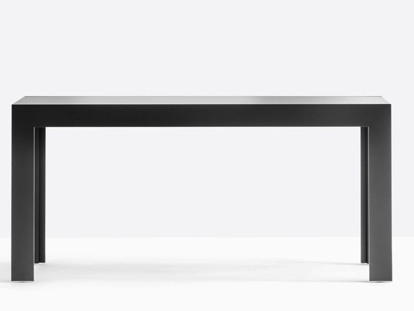 Extending glass console table MATRIX TMC by Pedrali