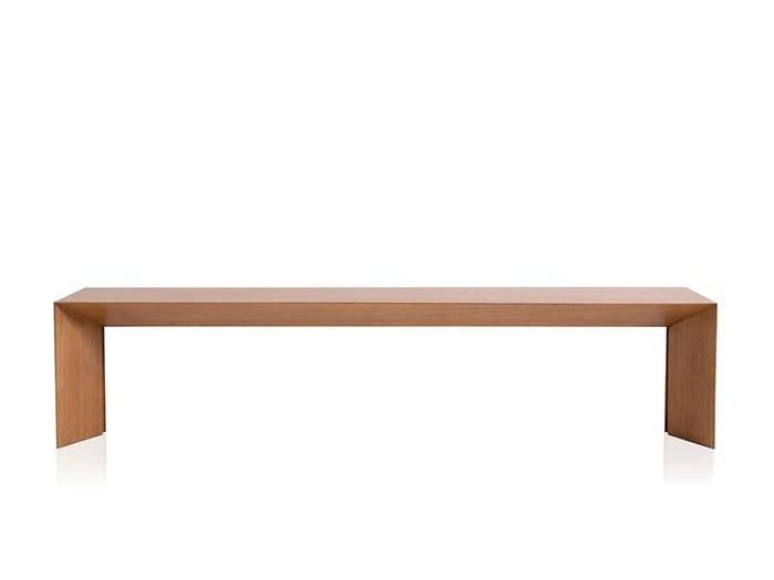 MDF bench MATRIZ by Sollos