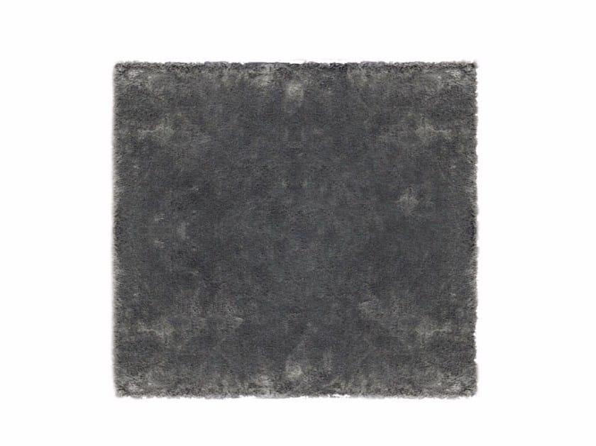 Solid-color linen rug MATT DIBBETS by Minotti