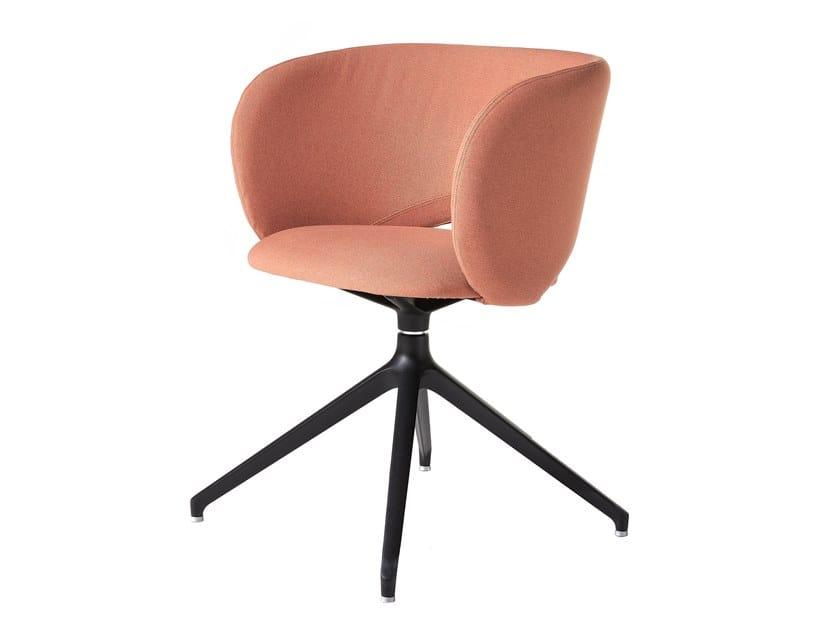 Swivel easy chair MAUI DINING | Swivel easy chair by Albaplus