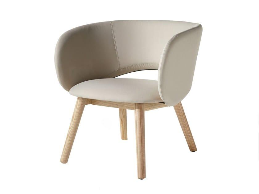 Ash armchair MAUI LOUNGE | Armchair by Albaplus