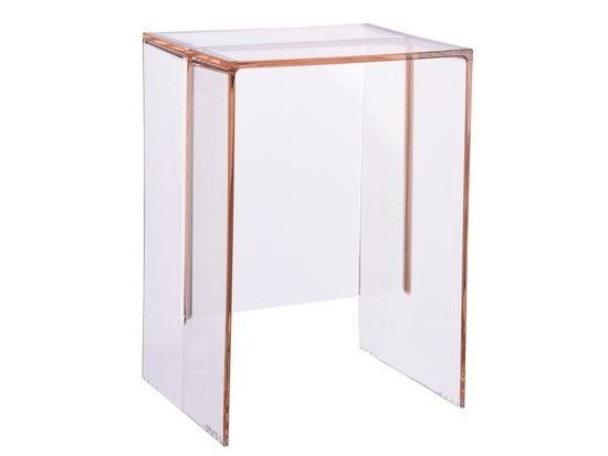 PMMA Stool / Coffee Table MAX BEAM By Kartell