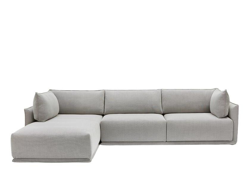 Modular sofa with chaise longue MAX | Modular sofa by SP01
