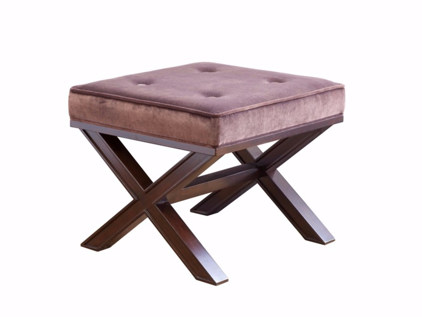 Upholstered stool MAX by SELVA