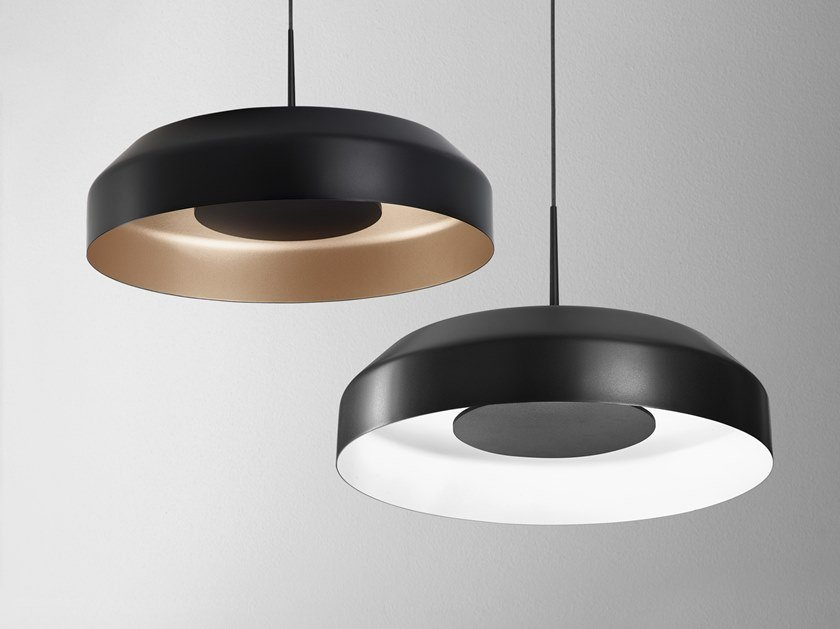 LED indirect light pendant lamp MAXI RING by AQForm